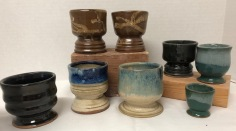 Small goblets...